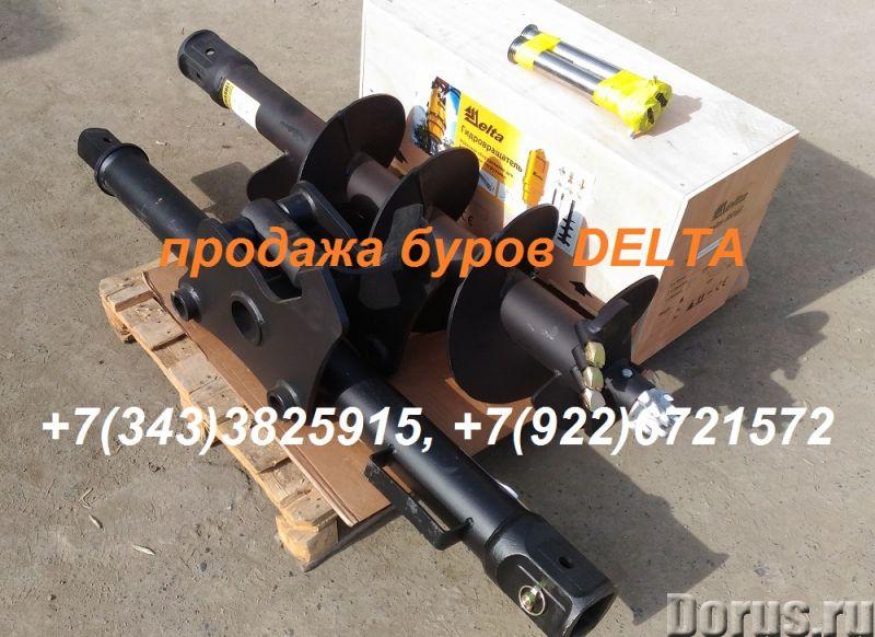 Гидробур для экскаватора - погрузчика, гидровращатель для мини - экскаватора - Запчасти и аксессуары..., фото 1