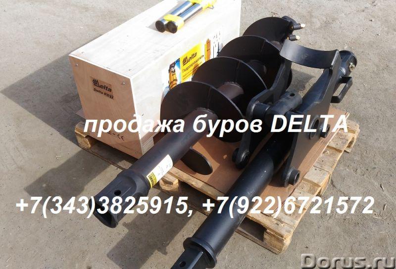Гидробур для экскаватора - погрузчика, гидровращатель для мини - экскаватора - Запчасти и аксессуары..., фото 2