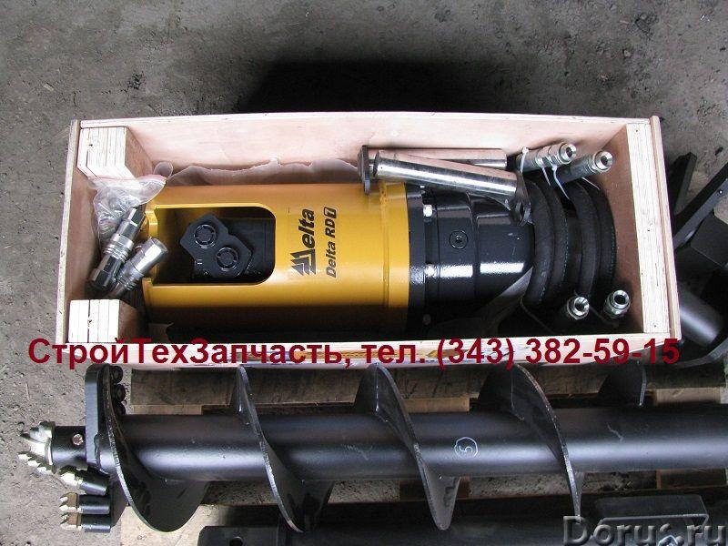 Гидробур для экскаватора - погрузчика, гидровращатель для мини - экскаватора - Запчасти и аксессуары..., фото 7