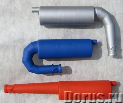 Глушители-резонаторы для ROTAX, SIMONINI и РМЗ всех моделей - Запчасти и аксессуары - Продаю глушите..., фото 1