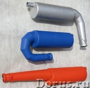 Глушители-резонаторы для ROTAX, SIMONINI и РМЗ всех моделей - Запчасти и аксессуары - Продаю глушите..., фото 2